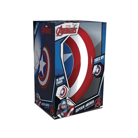 Luz de Presença Marvel Captain America Shield