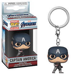 Porta-chaves Pocket POP! Marvel Avengers Endgame: Captain America