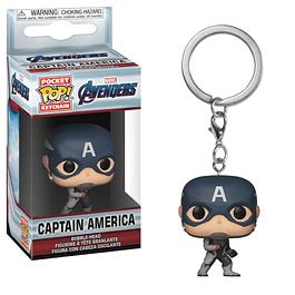 Porta-chaves Pocket POP! Marvel Avengers Endgame: Captain America