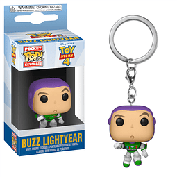 Porta-chaves Pocket POP! Disney Pixar Toy Story 4 - Buzz Lightyear
