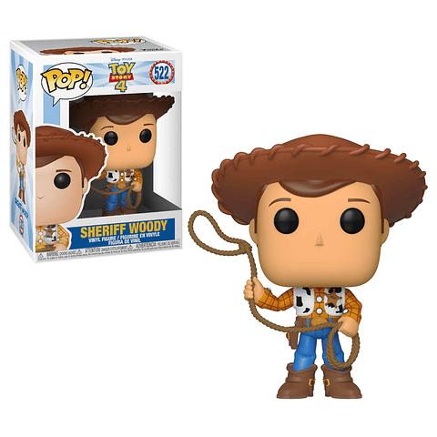 POP! Disney Pixar Toy Story 4: Sheriff Woody