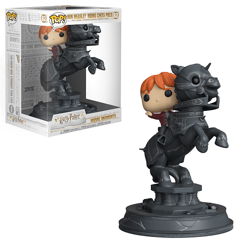 POP! Movie Moments: Ron Weasley Riding Chess Piece