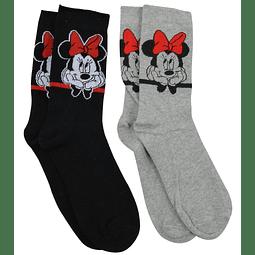 Conjunto de Meias Disney Minnie
