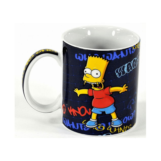 Caneca The Simpsons Who Wants To Know