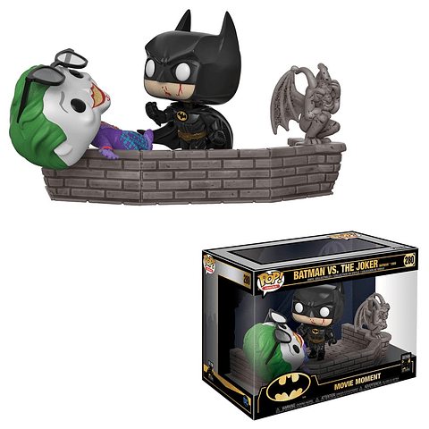 POP! Movie Moments: Batman 1989 - Batman vs. The Joker