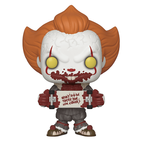 POP! Movies: IT Chapter 2 - Pennywise with Skateboard