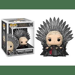 POP! Deluxe: Game of Thrones - Daenerys on Iron Throne