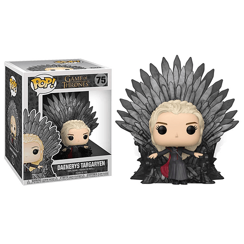 POP! Deluxe: Game of Thrones - Daenerys on Iron Throne