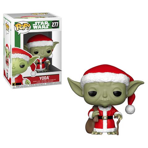 POP! Star Wars: Santa Yoda