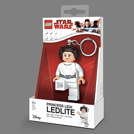 Porta-chaves Key Light LEGO Star Wars Princess Leia