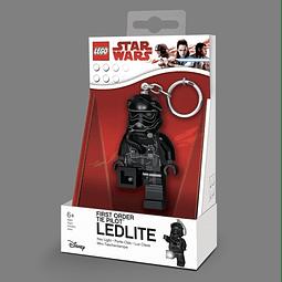 Porta-chaves Key Light LEGO Star Wars First Order Tie Pilot