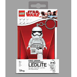 Porta-chaves Key Light LEGO Star Wars First Order Stormtrooper