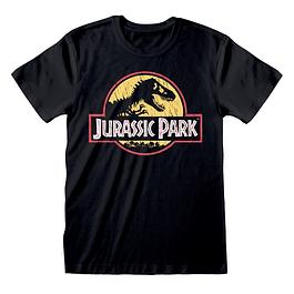 T-shirt Jurassic Park Original Logo Distressed