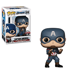 POP! Marvel Avengers Endgame: Captain America Special Edition