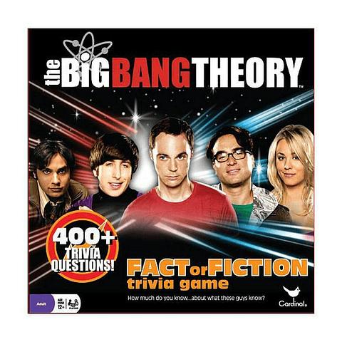 Fact or Fiction Trivia Game: The Big Bang Theory