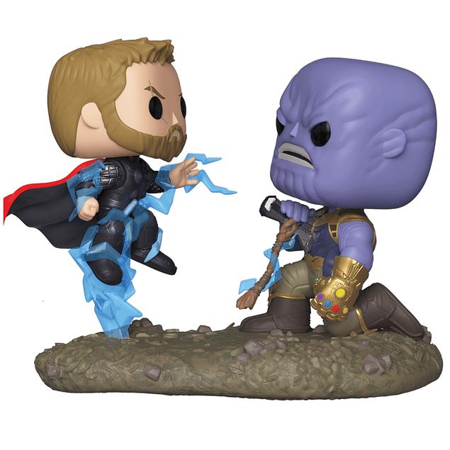 POP! Movie Moments: Marvel Avengers Infinity War - Thor vs. Thanos