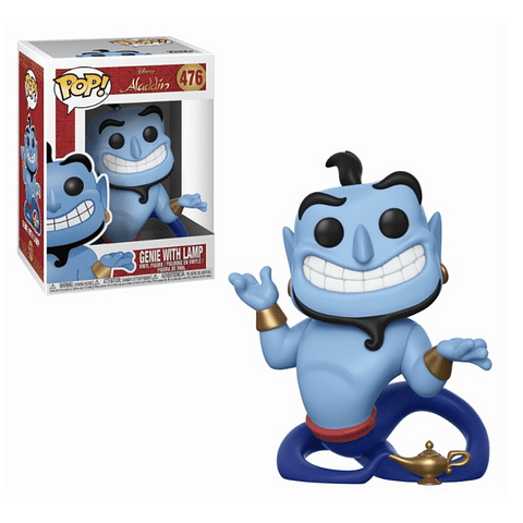 POP! Disney Aladdin: Genie with Lamp
