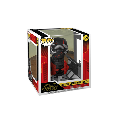 POP! Rides: Star Wars The Rise of Skywalker - Kylo Ren in TIE Whisper