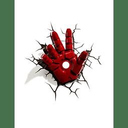 Luz de Presença Avengers Assemble Iron Man Hand