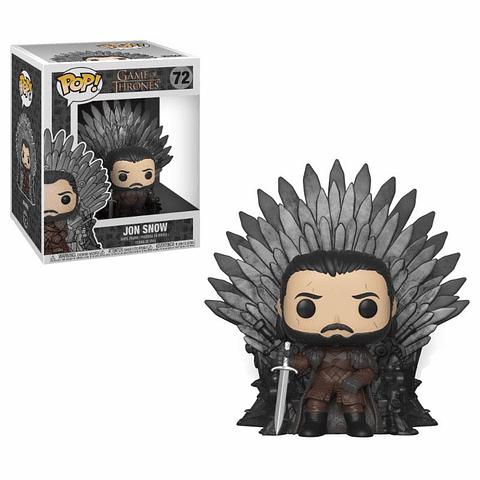 POP! Deluxe: Game of Thrones - Jon Snow on Iron Throne