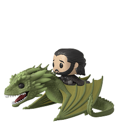 POP! Rides: Game of Thrones - Jon Snow & Rhaegal