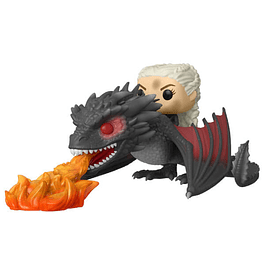POP! Rides: Game of Thrones - Daenerys & Fiery Drogon