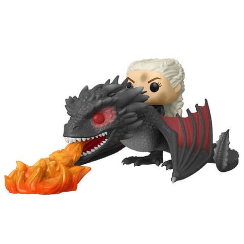 POP! Rides: Game of Thrones - Daenerys & Fiery Drogon