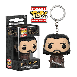 Porta-chaves Pocket POP! Game of Thrones: Jon Snow