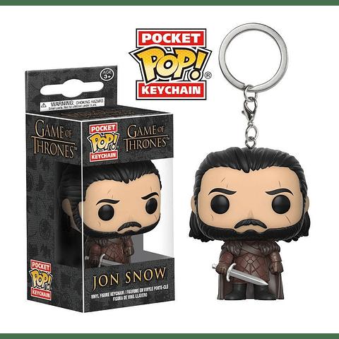 Porta-chaves Pocket POP! Game of Thrones: Jon Snow