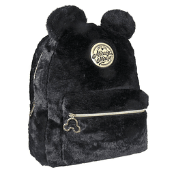 Mochila Disney Black Collection Plush Mickey