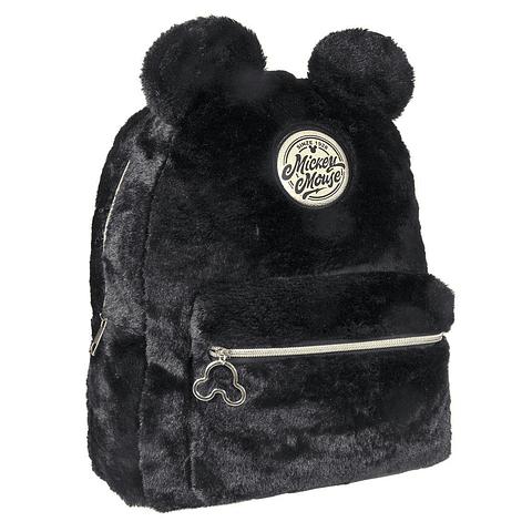 Mochila Disney Black Collection Plush Mickey