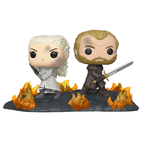 POP! Movie Moments: Game of Thrones - Daenerys & Jorah at the Battle of Winterfell