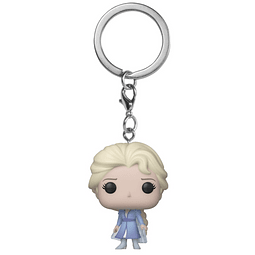 Porta-chaves Pocket POP! Disney Frozen 2: Elsa