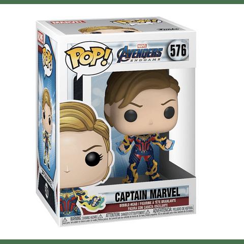 POP! Marvel Avengers Endgame: Captain Marvel (with New Hair)