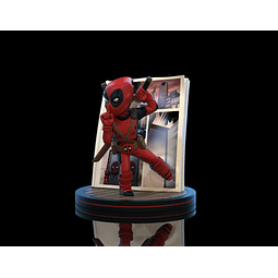 Q-Fig Marvel Diorama Deadpool 4D