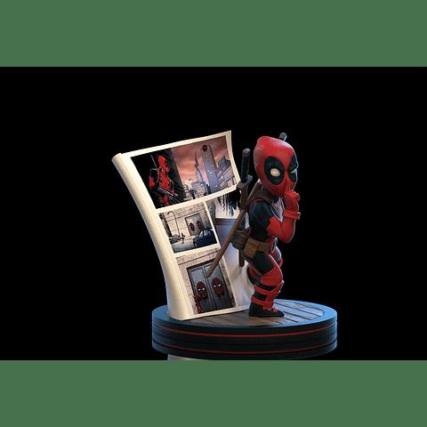 Q-Fig Marvel Diorama Deadpool 4D