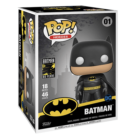 POP! Heroes: Batman (Super Sized)