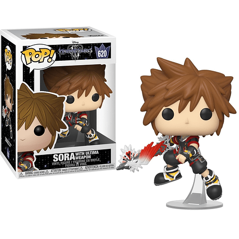 POP! Kingdom Hearts 3: Sora with Ultima Weapon