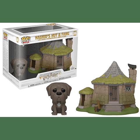 POP! Town: Harry Potter - Hagrid's Hut & Fang