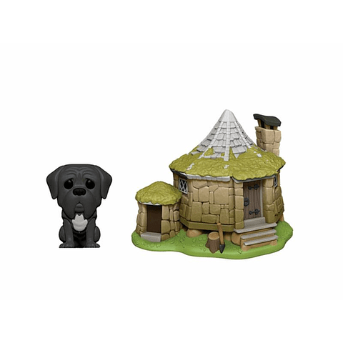 POP! Town: Harry Potter - Hagrid's Hut & Fang