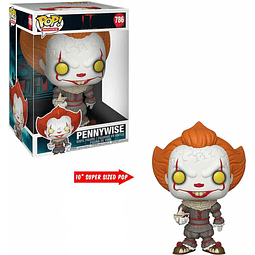 POP! Movies: IT Chapter Two - Pennywise with Boat (Super Sized)