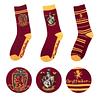 Conjunto de Meias Harry Potter Gryffindor