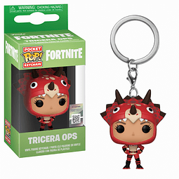 Porta-chaves Pocket POP! Fortnite: Tricera Ops