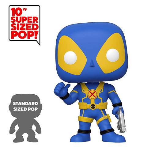 POP! Deadpool: Deadpool Thumb Up Blue Special Edition (Super Sized)