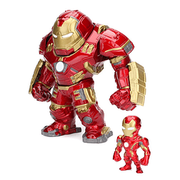 MetalFigs: Marvel Avengers Age of Ultron Hulkbuster & Iron Man