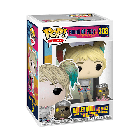 POP! Heroes: Birds of Prey - Harley Quinn and Beaver