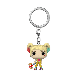 Porta-chaves Pocket POP! Birds of Prey: Harley Quinn (Boobytrap Battle)