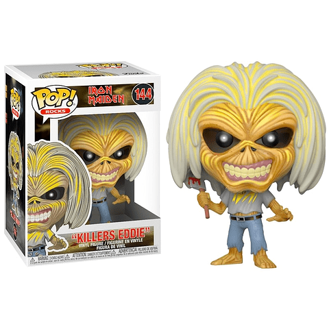 POP! Rocks: Iron Maiden - Killers Eddie