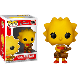 POP! TV: The Simpsons - Lisa with Saxophone