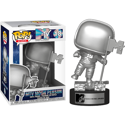 POP! Icons: MTV Moon Person